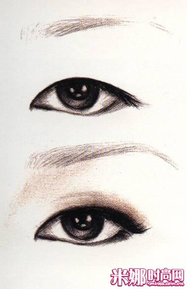 【眼部彩妆】四类难画眼型的眼妆画法,超级实用哦-四类难画眼型的