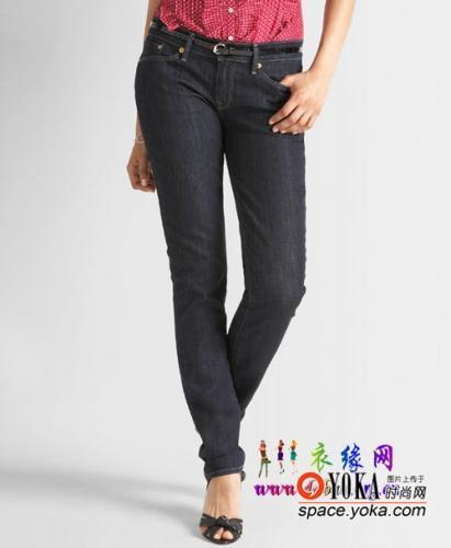 牛仔裤 叫什么好呢的时尚图片 yoka时尚空间