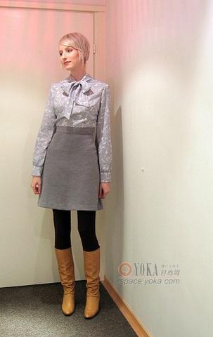 法国女郎服饰搭配4 雨塘秋子的时尚图片 YOKA时尚空间图片