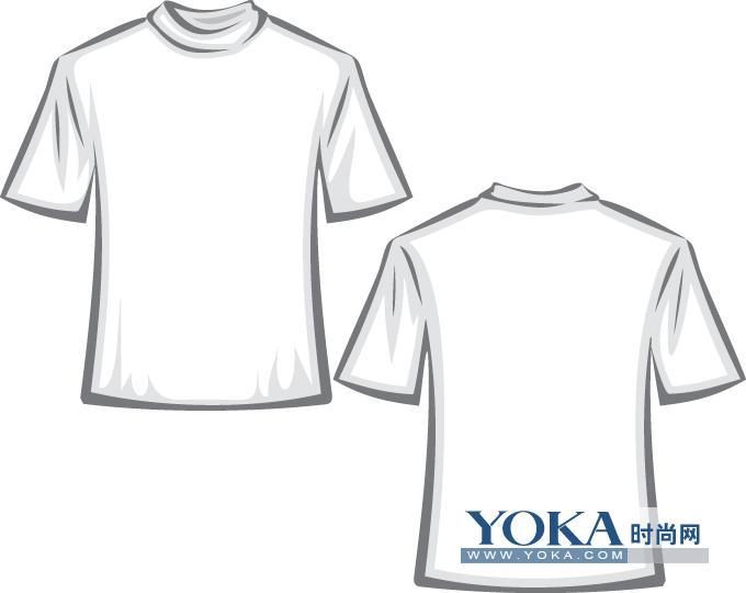 t恤效果图模板,t恤样式,上衣,外套,矢量图库