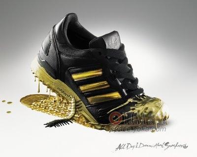 阿迪生态鞋