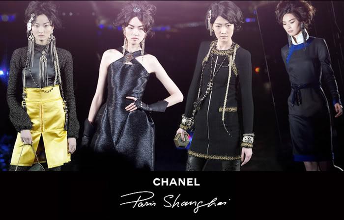 国际t台上的中国模特新秀