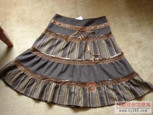 裙子设计图手稿大图展示