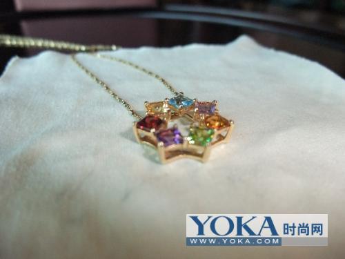 enzo 彩宝项链 freda jasmine28的时尚图片 高清图片
