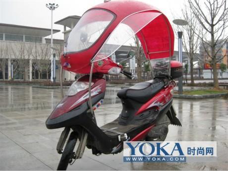 电动自行车遮雨棚-可爱多电动车防雨遮阳篷 电动车挡雨遮阳篷价格 北京电动车遮
