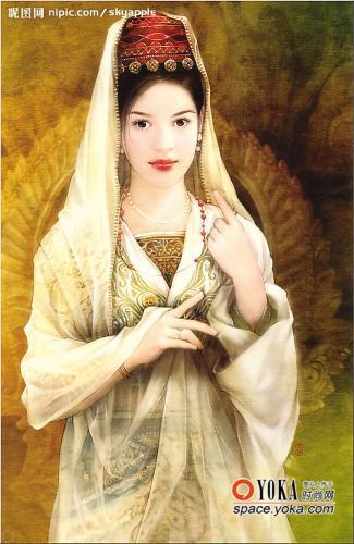 古典美女 晴天阳光li的时尚图片 YOKA时尚空间