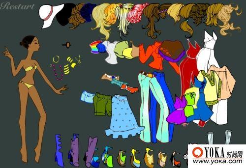 70年代 caucling的时尚图片 yoka时尚空间