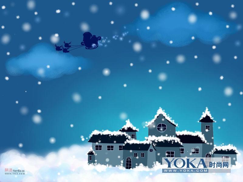 圣诞夜的高潮是基督教堂在圣诞夜举行的活动.