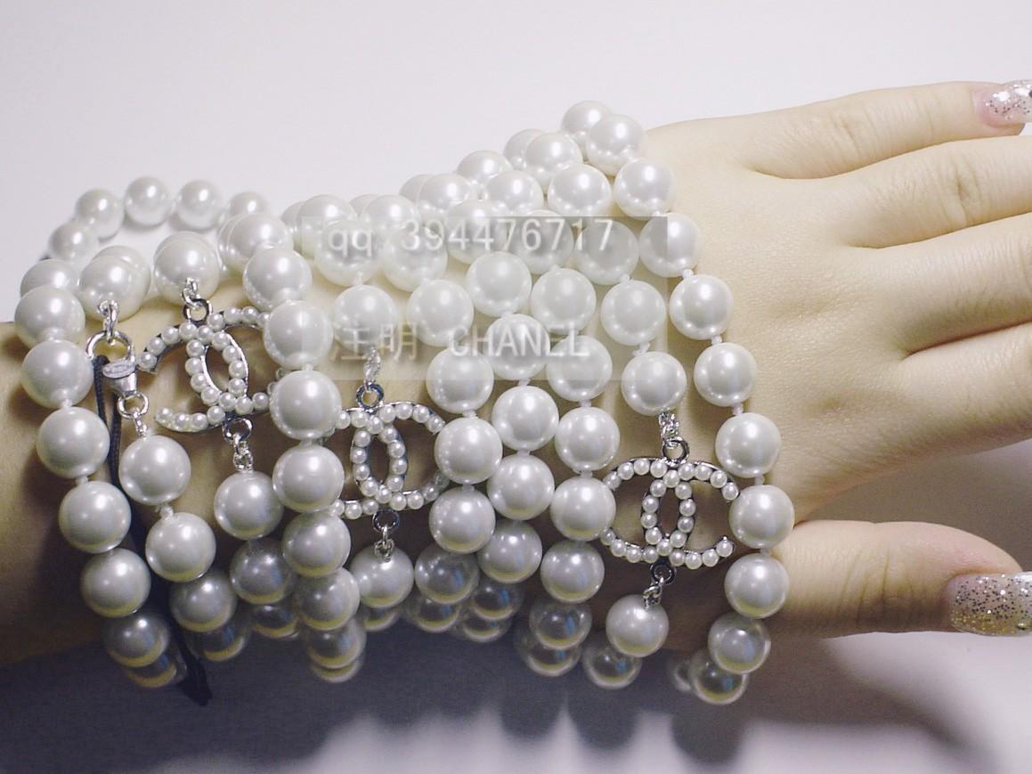 9.17 新到海外厂家CHANEL 珍珠项链 现货