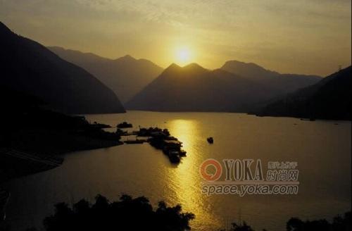 黄昏美景高清图片