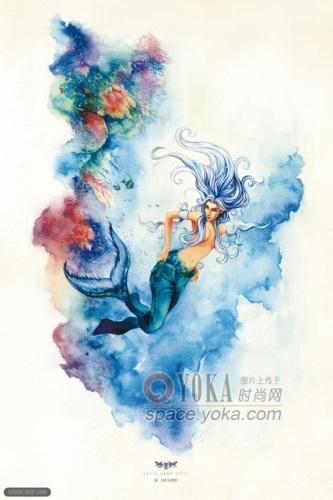 令美人鱼蜕变的牛仔裤 zhenfutao的时尚图片 yoka时尚空间