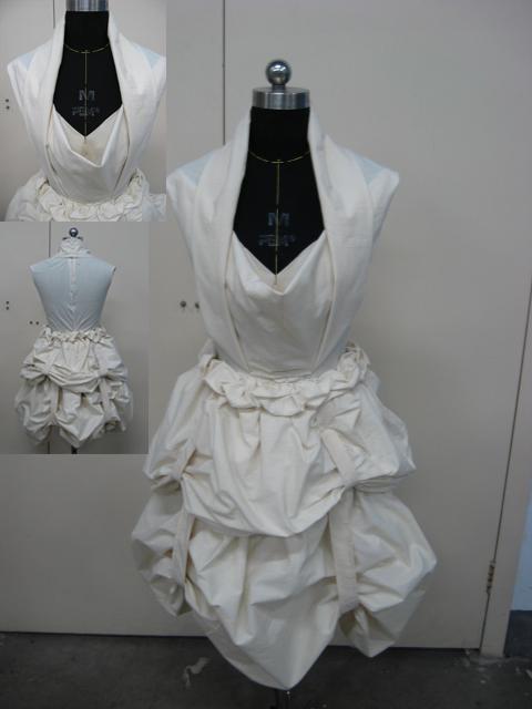 立裁礼服制作步骤图