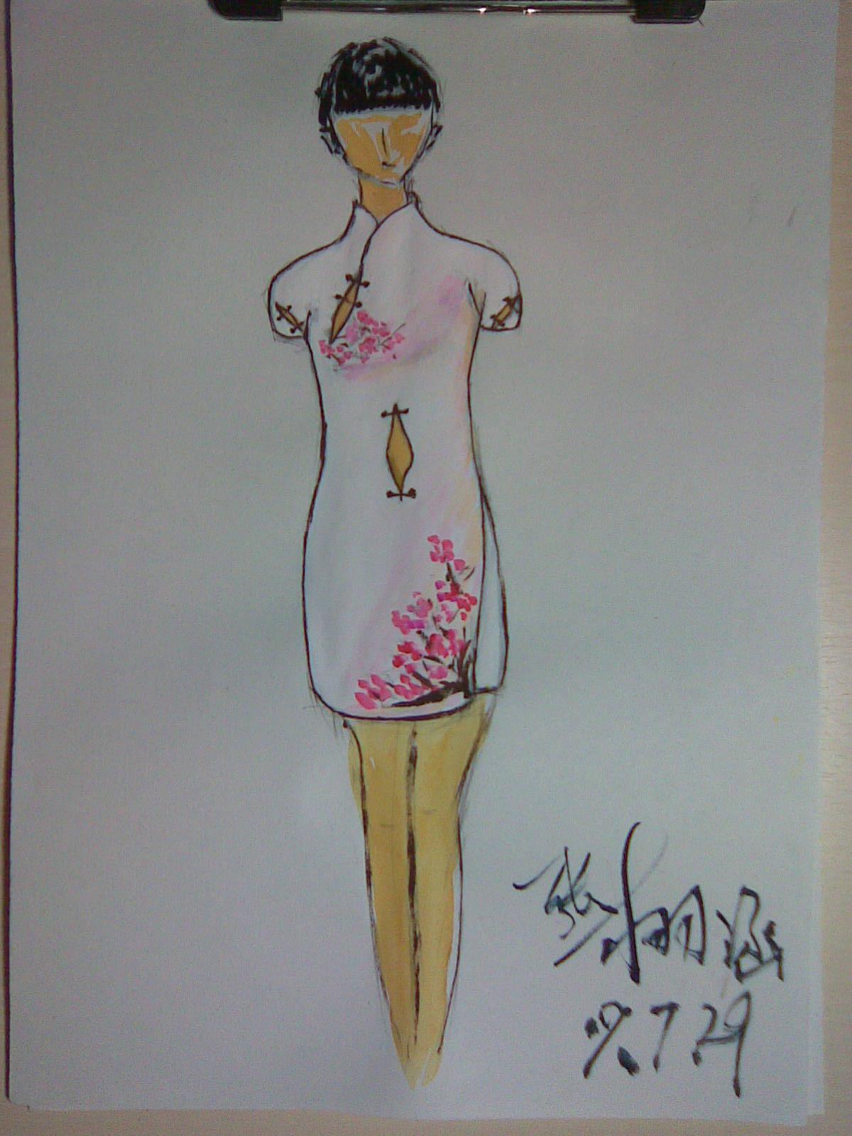旗袍的做法图解