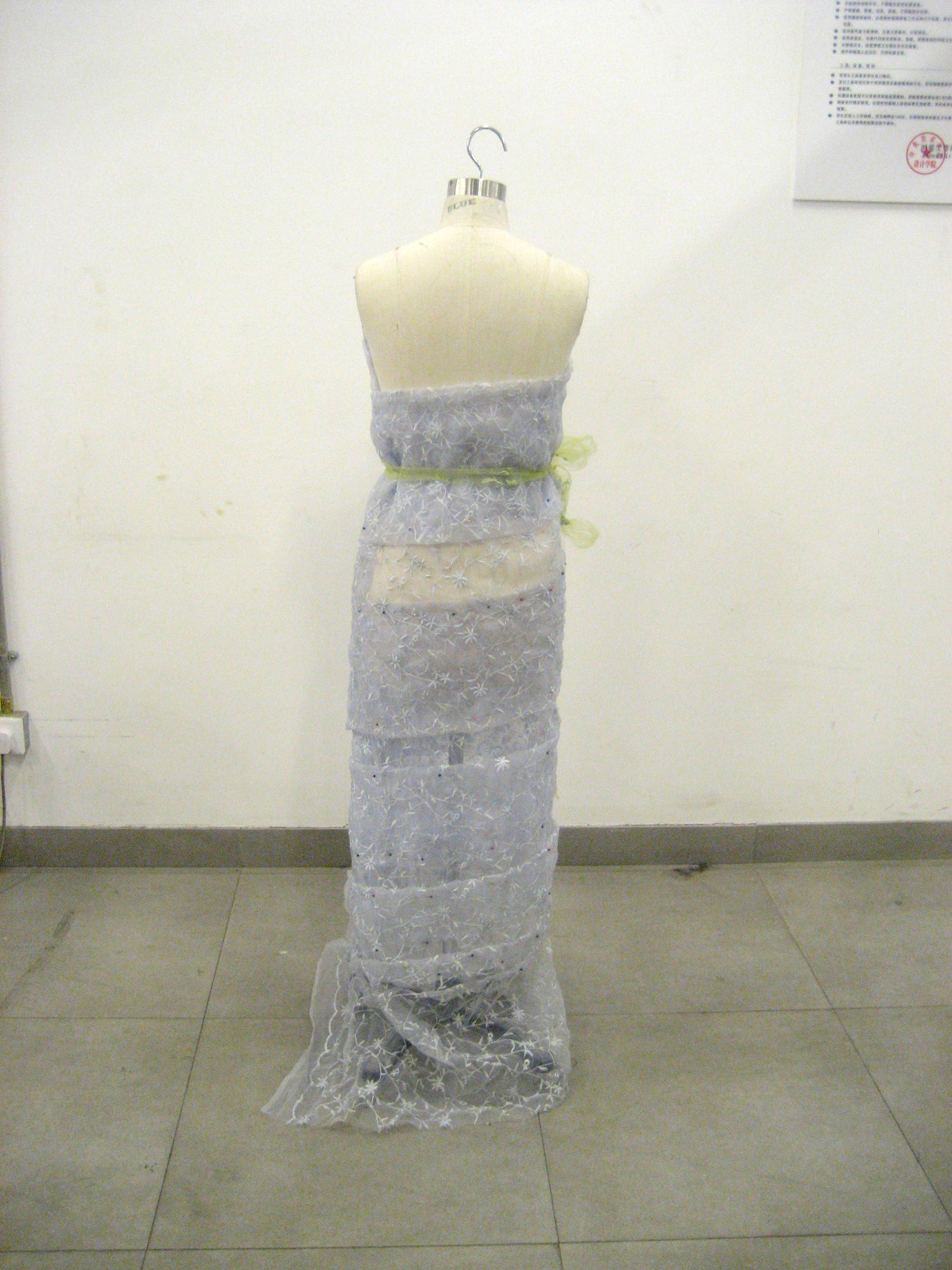 星空礼服设计图