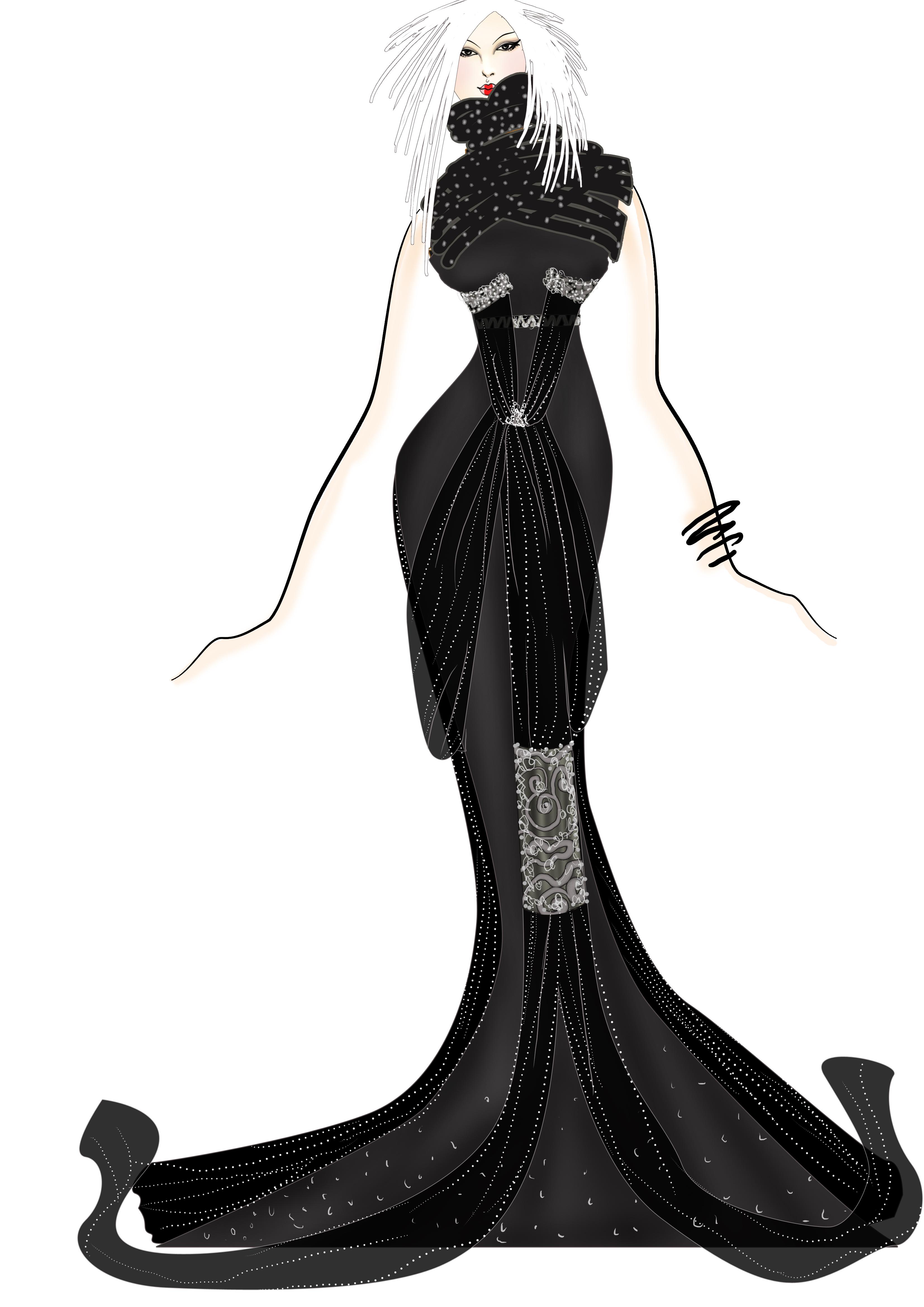 礼服设计稿