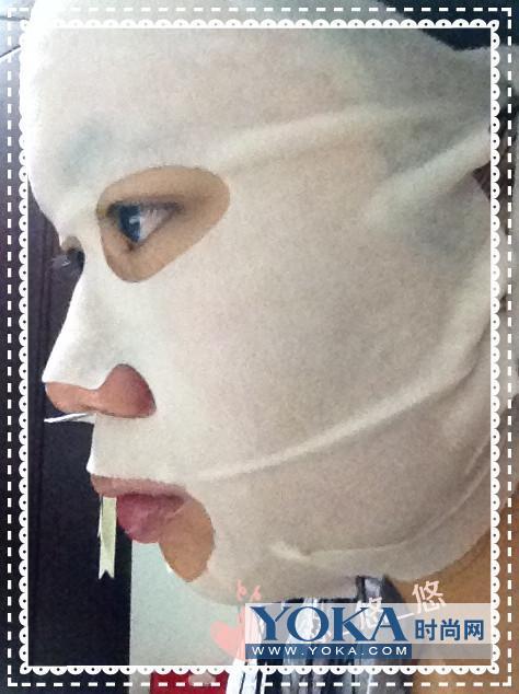 白玉兰雪耳钻采紧致美白拉提面膜