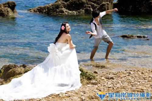 海景婚纱 星海岸婚纱摄影16 星海岸 鲁小鲁的时尚图片图片