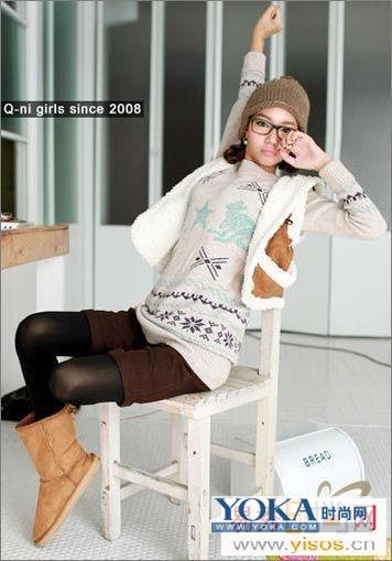 年秋季流行服装款式1:-2009秋季流行服饰