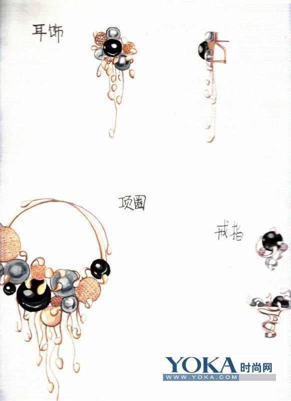 中国首届校园新锐珠宝设计手稿大赛的博客
