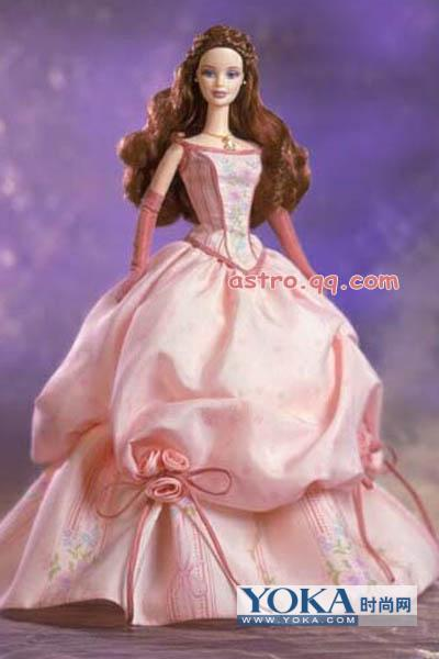 芭比娃娃的十二星座pl晚礼服