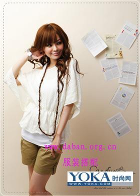 初秋服饰搭配-巧穿白色秋装 另类风情 gpsina的时尚博客 YOKA时尚博