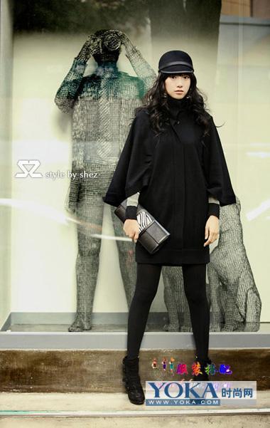 冬季女装图片-本季热门时尚女装搭配秀