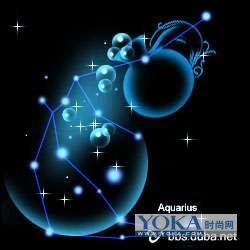 一套非常唯美的十二星座星空图 - 亚月 - junki枫