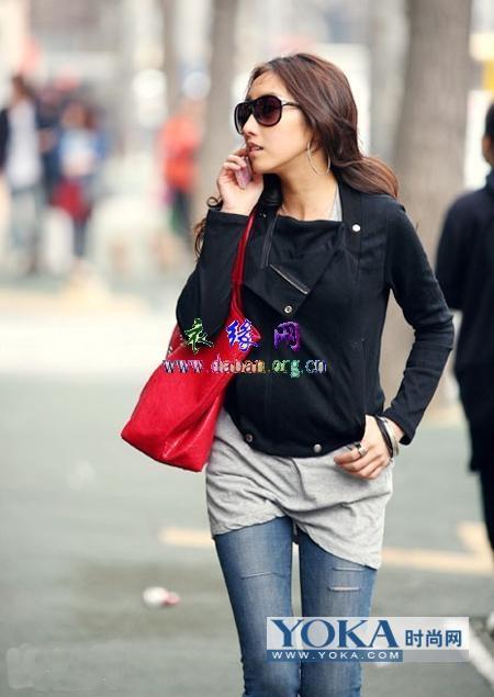 09韩国冬季流行服饰图片