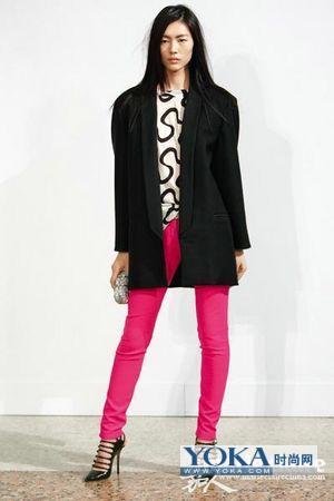 80年代复古时尚服装搭配