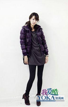 矮个MM最爱的冬季服饰搭配