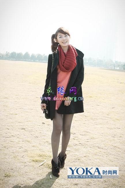 冬季服饰搭配-简约气质冬季服饰混搭