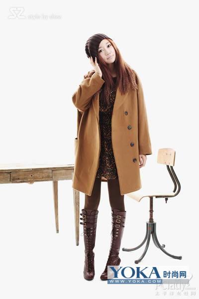 时尚女冬装搭配图片_冬季服装搭配图片女图片