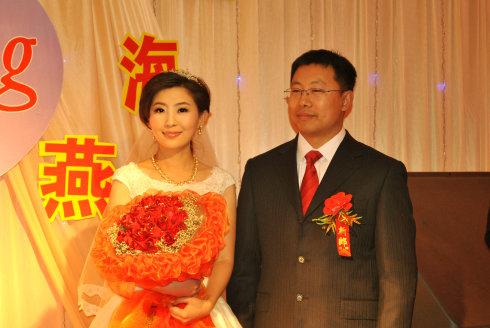 滨州一套民生关注主持人王海燕的婚礼跟妆图片