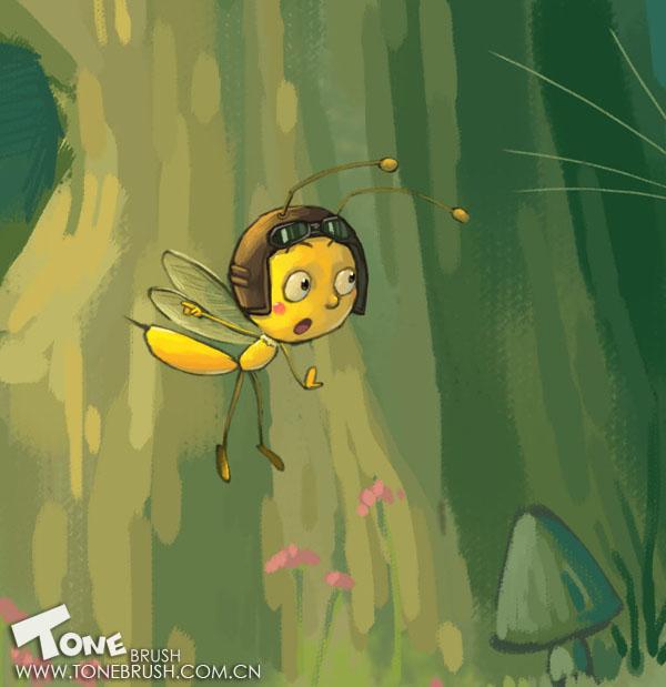 ps素材图片 蜜蜂