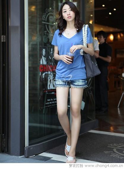 今年牛仔短裤的流行趋势