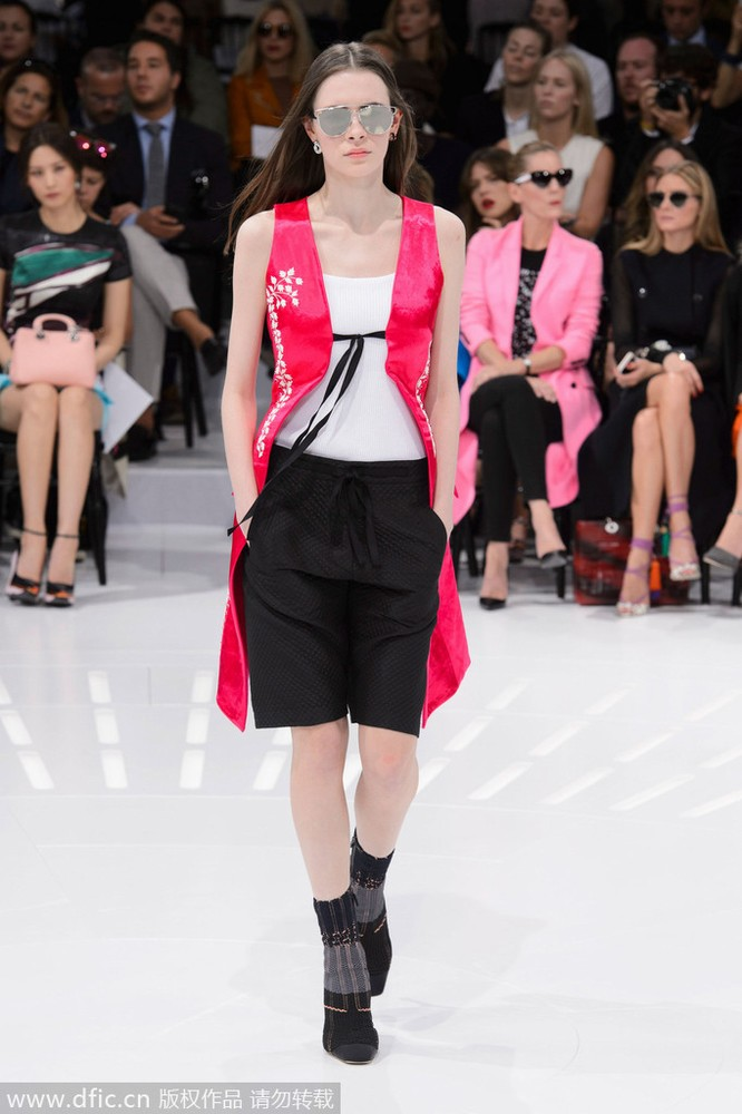 2015春夏巴黎时装周christian dior