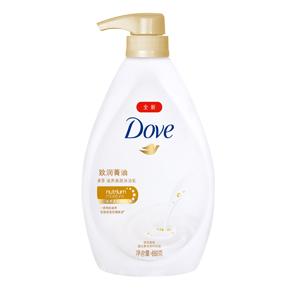多芬致润菁油滋养美肤沐浴乳