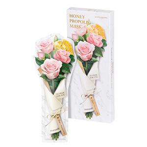 [七夕特辑]梦妆花语蜜意蜂胶玫瑰保湿水润面膜