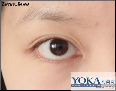 内双眼影的画法图解