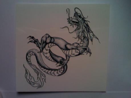 龙纹身造就女王范儿