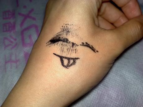 笑脸图片纹身图案