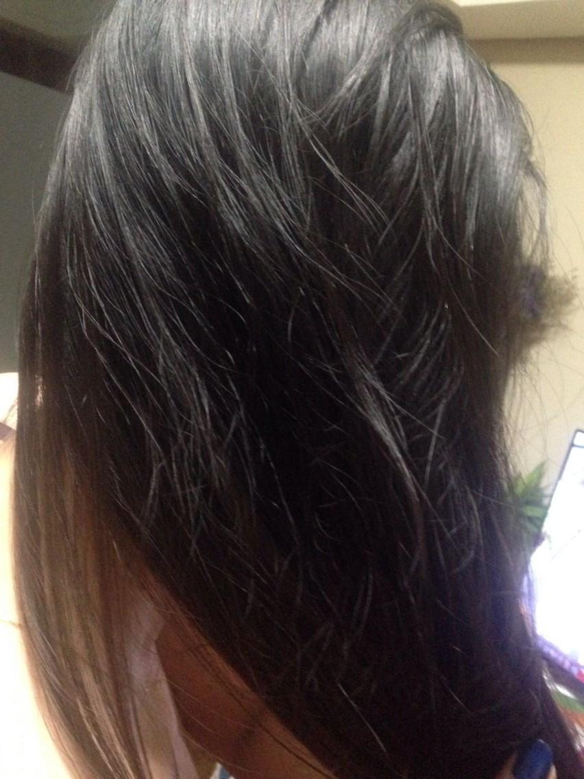 使用前后:试用之前头发比较毛躁容易打结,用后特别顺滑图片